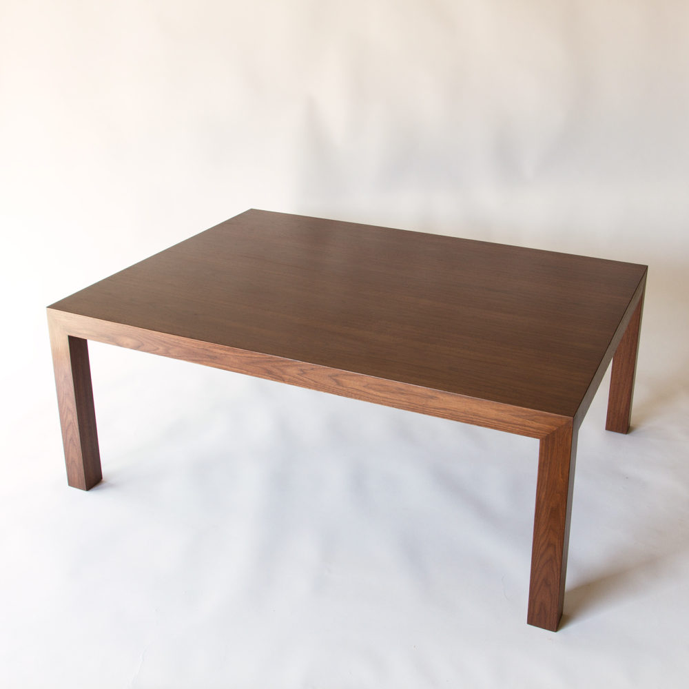 farrar furniture. Walnut Parsons Table Farrar Furniture